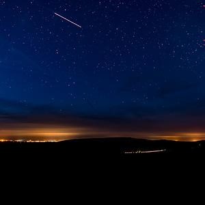Sortie photo de nuit - Saint Michel de Brasparts - Panoramique Monts d'Arrée de Nuit